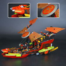 DIY Kids Toys- Asian Classic ship - 1325pcs -10 minifigures-Cool Building Blocks