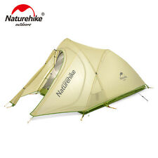 Double Person Nylon Tent Ultralight Waterproof Outdoor Camping Tents with Mat