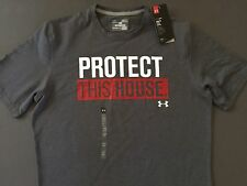 Under Armour Men's Charged Cotton T Shirt Protect this house Sizes L XL XXL NWT