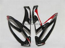 New Durable Custom Carbon Fiber Mountain MTB Bike Water Bottle Cage Road Bicycle