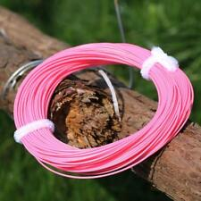 100FT Fly Line Floating WF4/5/6/7/8F Pink Fly Fishing Line Trout Salmon Line