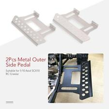 2Pcs Pedal Plate 2Pcs Outer Side for 1/10 Axial SCX10 RC Rock Crawler Parts B9V7