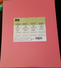 Stampin' Up! Retired 2015-2017 In Color Cardstock NIP YOUR CHOICE