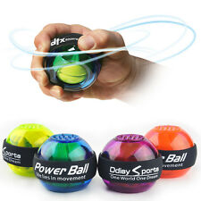 Gyroscope Force Ball Gyro Power Wrist Arm Exercise Ball Light Sport Toy With LED