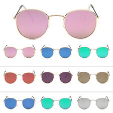 Unisex Mens Womens Retro Fashion Metal Frame Eyewear Sunglasses Shades Glasses