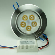 4Pcs Dimmable 3W 4W 5W 7W LED Ceiling Light Recessed Downlight Lamp With Driver