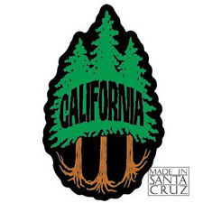 Santa Cruz or California Tree Sticker - Decal Tim Ward [Redwood, Cypress ...]