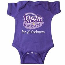 Inktastic Alzheimers Awareness Cure Support Infant Creeper Disease Dementia Walk