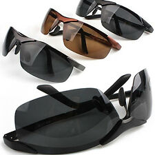 Mens Cool Fashion Police Metal Frame Polarized Sunglasses Driving Glasses Worthy