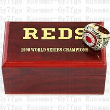 1990 Cincinnati Reds World Series Championship Copper Ring Size 10-13 Solid Gift