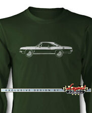 1967 Plymouth Barracuda Coupe Long Sleeves T-Shirt - Multi Colors & Sizes