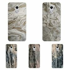 Case For ZTE Blade V8 A1 V7 Lite Soft TPU Silicone Phone Back Cover Marble