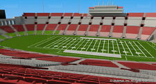 UTAH UTES @ USC TROJANS OCT 14th (4) FOOTBALL SIDELINE SEASON SEATS 35 YD LINE