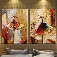 """Modern Abstract Art New Oil Painting""""Dance"""" Huge Wall Art on Canvas With Framed"""