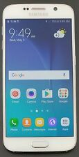 Samsung Galaxy S6 G920V 32GB Verizon Unlocked Android Smartphone WHITE *GREAT*