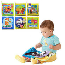 Intelligence development Cloth Bed Cognize Book Educational Toys For Kids Baby