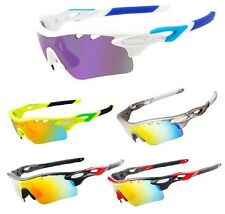 Polairzed Cycling Sunglasses Bicycle Eyewear 5 Lens Outdoor Sport Glasses UV400