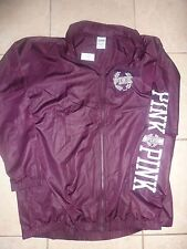 "VICTORIAS SECRET PINK ""PINK"" ""PINK"" ANORAK FULL ZIP WINDBREAKER SOLD OUT NWT"