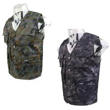 Men Breathable Fly Fishing Hunting Jacket Multi-Pocket Chic Single Breasted Vest