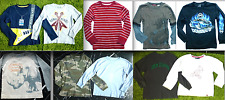 GYMBOREE Boys GRAPHIC STRIPED CAMOUFLA Long Sleeve KNIT TOP SHIRT Shirts 5 6 7 8