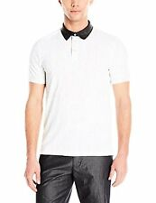 Calvin Klein Jeans Men's Slub Jersey Digit Polo Shirt - Choose SZ/Color
