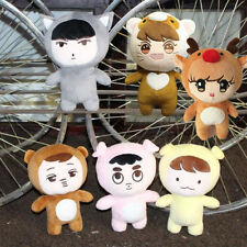 Kpop EXO xoxo planet #2 EXO Plush Toy chanyeol chen kai suho sehun Doll New
