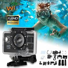 HD 1080P WIFI Waterproof bike Helmet Action sport DV camera cam DVR SJ4000