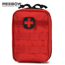 Outdoor Emergency Rescue First Aid Bag Only Tactical EMT Empty Molle Pouch