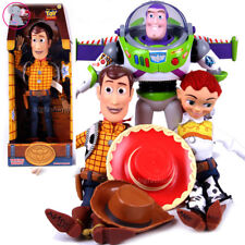 TALKING TOY STORY SHERIFF WOODY JESSIE DOLL SOFT FIGURES TOY PULL STRING GIFT AU
