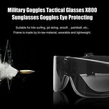 Military Goggles Tactical Glasses X800 Sunglasses Goggles Eye Protecting BS