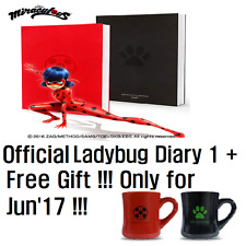 Miraculous Ladybug 2017 2018 2019 Diary FREE GIFT MUG Journal Monthly Planner
