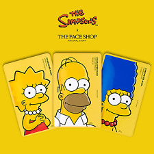 THE FACE SHOP Simpson Family Character Mask sheet - large, medium, small size