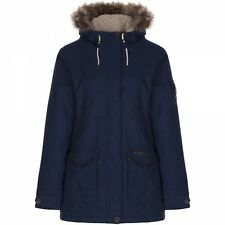 CRAGHOPPERS Womens Burley PADDED Fleece Coat Jacket Blue SIZE 12 **RRP £120**
