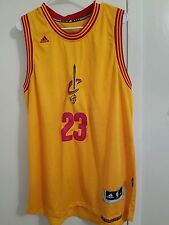 NBA Cleveland Cavaliers #23 LeBron James Swingman Adidas Athletic Jersey Size XL