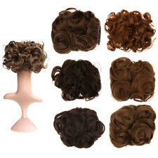 Lady Wave Curly Combs Clip In Hair Bun Chignon Piece Updo Cover Extension