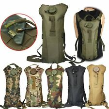 Fashion 3L w/ Water Bladder Bag Hydration Backpack Packs Hiking Camping Cycling