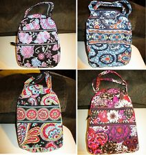VERA BRADLEY Lunch Bunch Bag School Office Alpine Marrakesh Parisian