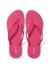 NWT Ladies FLIP FLOPS Old Navy Thong Sandal BRIGHT PINK Shoes SIZE 6,7,8,9,10,11