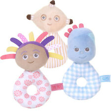 In the Night Garden Character Ring Rattles -Iggle Piggle,Upsy Daisy, Makka Pakka