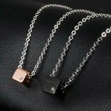"316L Stainless Steel Couple Lovers Chain ""Forever"" Pendant Necklace Jewelry Gift"