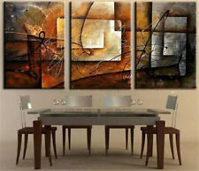 Home Decor Art Painting 3Pc Oil Painting Abstract With Framed Modern Art Canvas