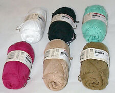 Phildar Phil Crochet 100% Cotton Yarn Color Choice Loom Knit Crochet Free Ship
