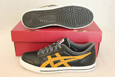 Asics Onitsuka Tiger AARON Black TAN Trainers Shoes Shoe Size 45 46 37