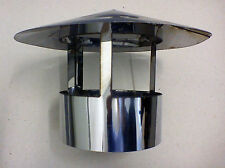 Roof cowl, chimney cap, rain hat, hood, ducting, stainless steel flue pipe