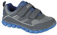 Boys New Superlight Grey Blue Trainers Gym Sport Running Trainers 10 11 12 13 1