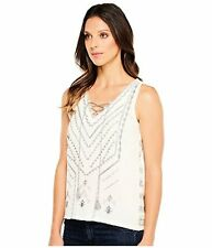 Lucky Brand Womens Embroidered Sweater Tank Top - Choose SZ/Color