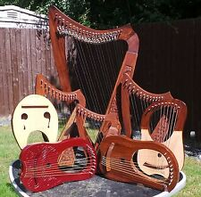 Harp Celtic Rosewood  Includes Blue Bag and Tuning Key  and Accessories