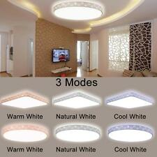 80W LED Ceiling Light Lamp 3-Modes Oyster Lighting Fitting Modern For Indoor G