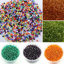 High Quality 1000pcs 2mm Czech Glass Seed Round Spacer beads Jewelry Making