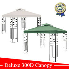 New Two-tiered 10'x10' Replacement Gazebo Canopy Top Patio Cover Shade WA